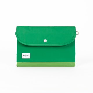 Hellolulu Tess-iPad lightweight clutch (grass)