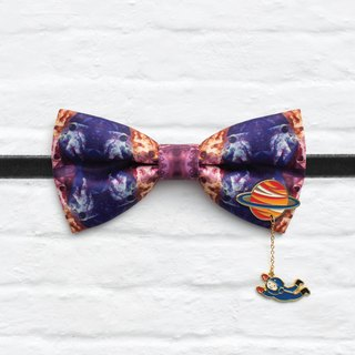 Style 0170 Bowtie with decorative pins - Modern Boys Bowtie, Toddler Bowtie Toddler Bow tie, Groomsmen bow tie, Pre Tied and Adjustable Novioshk