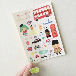 Stickers - London, United Kingdom Travel (Out of Print)