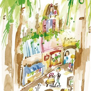 Coconut Grove Street View Postcard (coming soon)