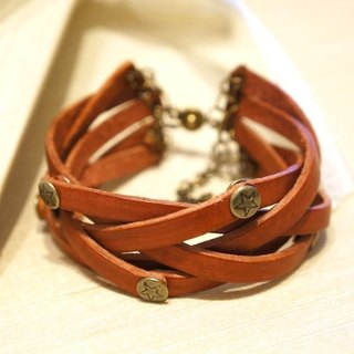 Ai Pangke wind can twist leather ring