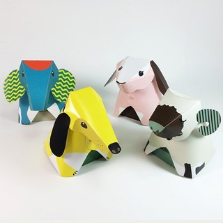 [ImSTONE stone paper gift] animal nightlights / LED nightlight goodnight shakes / DIY