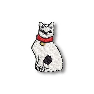 [Jingdong all KYO-TO-TO] cat feeding good fifty-three Cloth シ an have DANGER _ Cat (Mariko) Embroidery