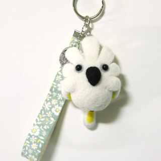Rolia's Handmade Blue Eyes Pardant Wool Felt Charm (Customizable)