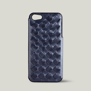 [Price Down Price Drops ↓] ivicase - iPhone 5 / 5S leather phone case - black pearl [knitting]