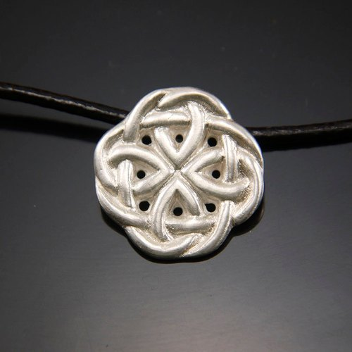 Syrte knot - Silver Necklace