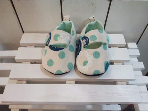 Lace circle baby toddler shoes (12cm)