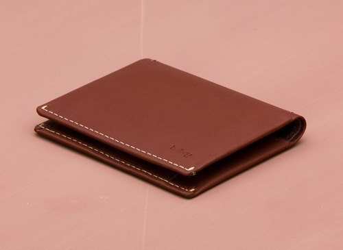 Plain-me exclusive agent in Australia brand BELLROY New Slim Sleeve Leather business card holder (Cognac)