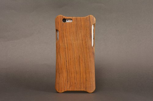 Apple iPhone 6 Plus teak wooden shell _