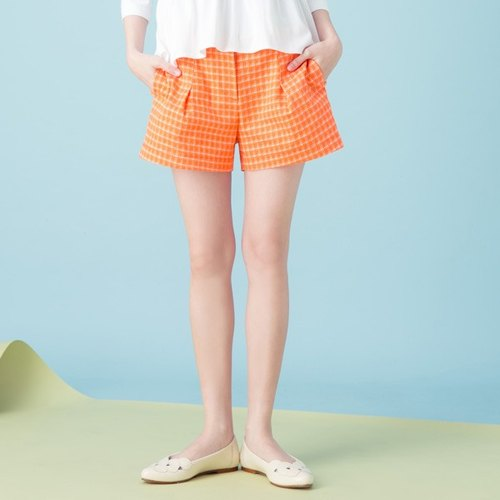 Xu Xu children ♪ honey citrus muffins plaid shorts