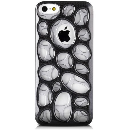 monCarbone [Crater] iPhone SE / 5S / 5 Carbon Fiber Case