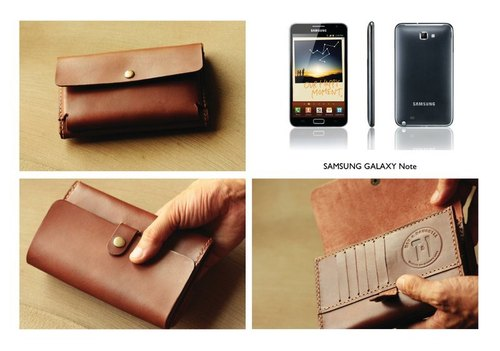 Customized Goods: SAMSUNG GALAXY Note Leather Case