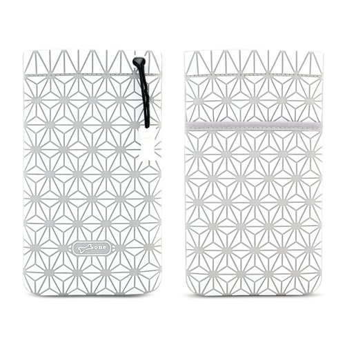 Phone Cell Plus shining star Mang pouch - white