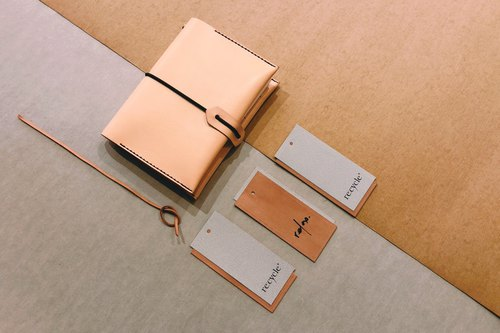 6.7.8 Month Travel Fun Limited Offer - A6 hand-stitched cow leather notebook combination.