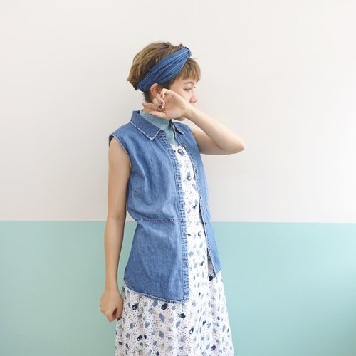 sale! Vest Washed Denim Shirt