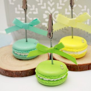 Hand-made Waltz - timeless classic ~ macarons card holder / Xie deck