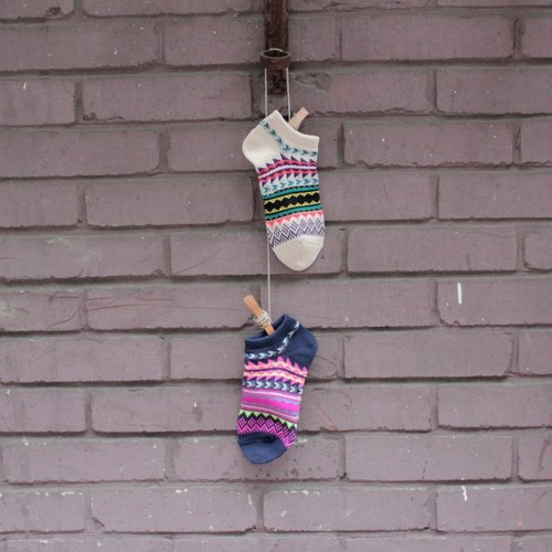 ☼saibaba ethnique // --- cotton socks summer national wind totem 1 + 1 combination ☼