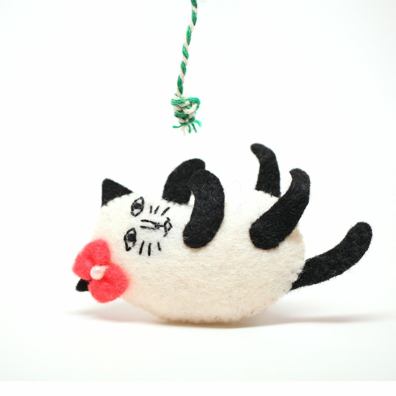 Play Cat Pins - Mobile Phone Strap