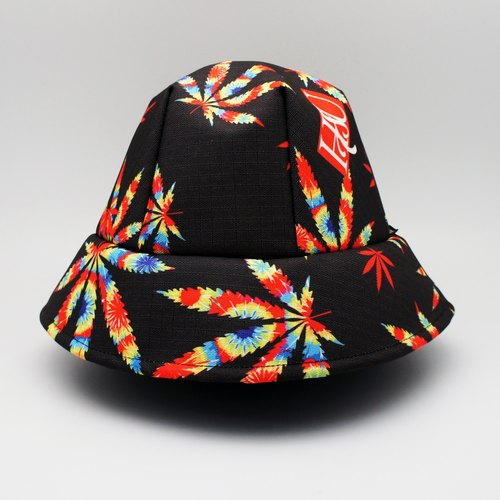 BLR hand-made hat HSU joint printing money hashish sided wear