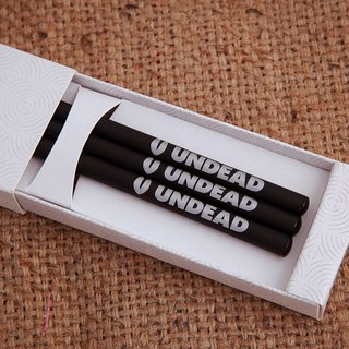 UNDEAD Pencil set