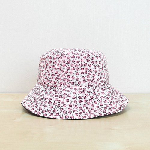 "[CrazyBaby] ""Limited 1 Top"" Flower Leap/Double-Sided Fisherman Hat"