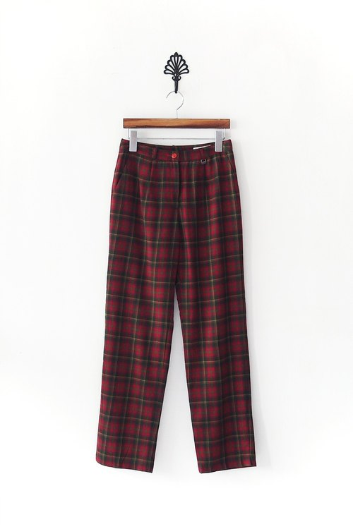 Banana Flyin '| Vintage | Red Plaid Pants