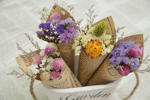 【Hydrangea Studio】 dried flower sweet bouquet small bouquet wedding room layout probe room ceremony bridesmaid