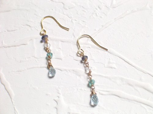 Fresh Topaz Earrings
