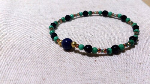 crystal in dearsharka || dotdot. X x black onyx lapis malachite