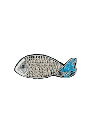 "Earth tree fair trade- new spring and summer, ""handmade jewelry Series"" - hand embroidery fish brooch"