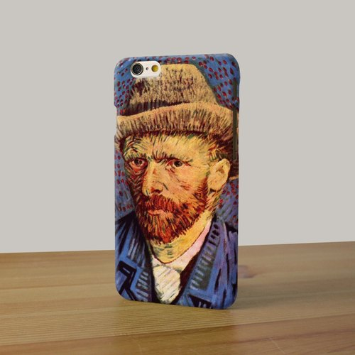 iPhone 6 Case iPhone 6 Plus Case Van Gogh Painting Self-Portrait phone case, available for iPhone 6 6 Plus 5/5s 5c 4/4s, Samsung Galaxy S6 S6 edge S5 S4 S3 Note 3 Note 4 Note 2