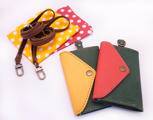 Green Lake hit color models, handmade leather badge