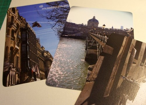 Sewing ball Paris postcard (set 12)