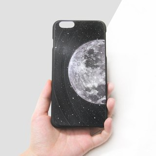 iPhone 8 iPhone 7 Phone Case Moon Vinyl Record (Engraving Service)