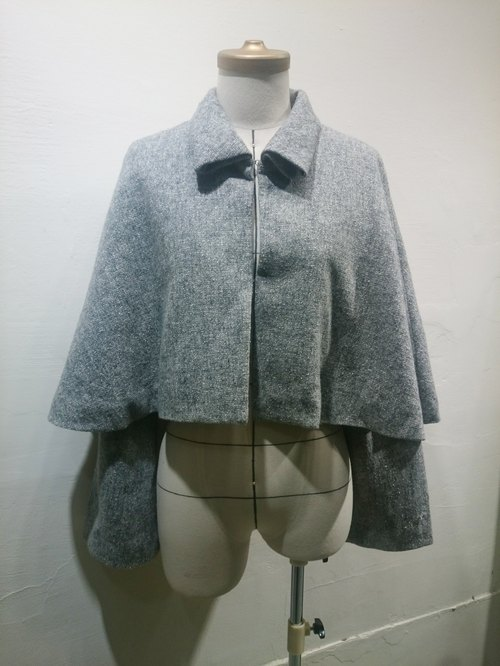 Sample sale Japan wool cape coat Galaxy of Stars