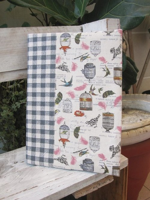 Birds flying cloth book clothes