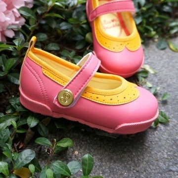 Sara pink tangerine collar doll shoes (special offers only return)