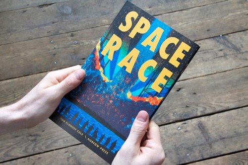 Space Race - Tom Clohosy Cole * UK Nobrow Illustrated