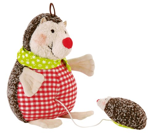 German century brand Käthe Kruse-Hedgehog Paul hedgehog music rang the bell dolls