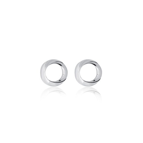 WING Jewelry Winding Series | Gradient Series - Circle Earrings l 8AD00025