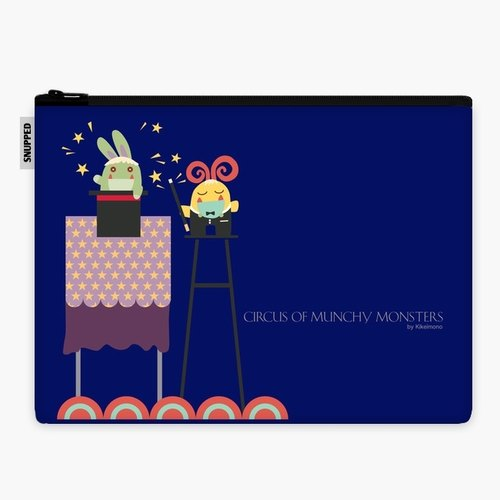 SpaceSuit - Document Pouch - Mr. Magic (Blue)