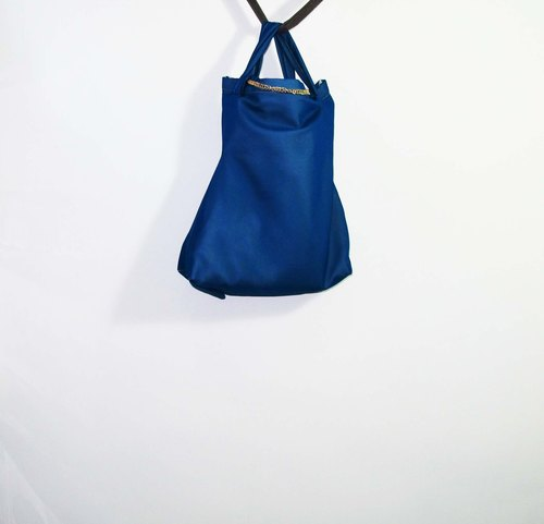 Wahr_blue deformity bags/ shoulder bag / shopping bag