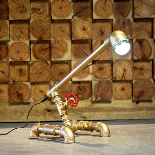 [Mania] industrial valve maker of retro nostalgia and creative office bedroom study lamp LED lamp decoration pipes