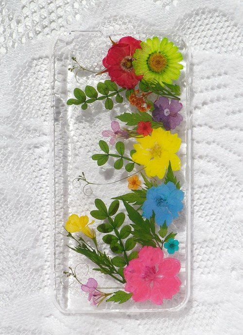 Anny's workshop hand-made Yahua phone protective shell for iphone 6 / 6S plus, happiness Handmade