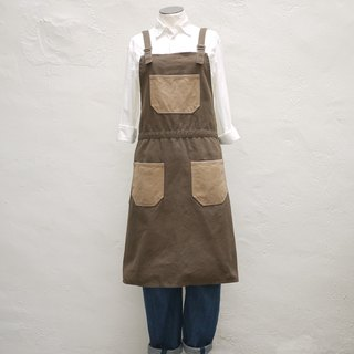 Goodday Contrast Pockets Apron