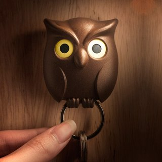 [Hot] QUALY owl - key ring