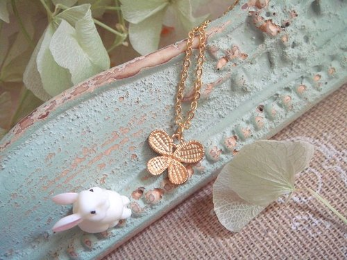 Garohands fog gold handle small butterfly short-chain A289 Gifts