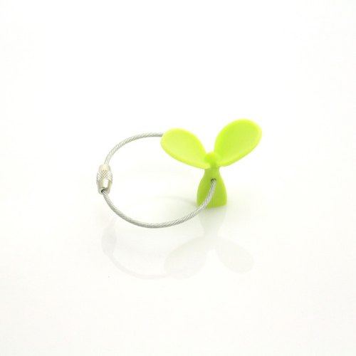 Dipper original design field fun shape key ring single group - pick green shoots