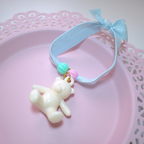 Beige Bear Fa ring candy colors