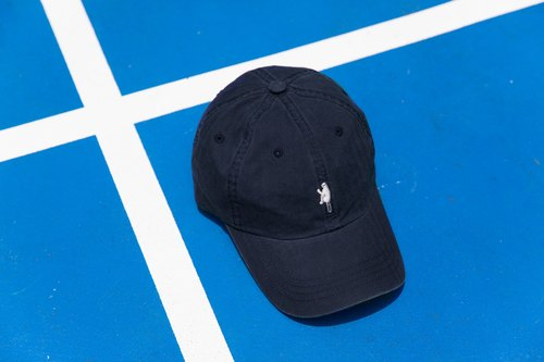 Fox dim dark blue hat